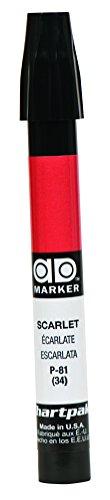 Chartpak AD Markers scarlet tri-nib