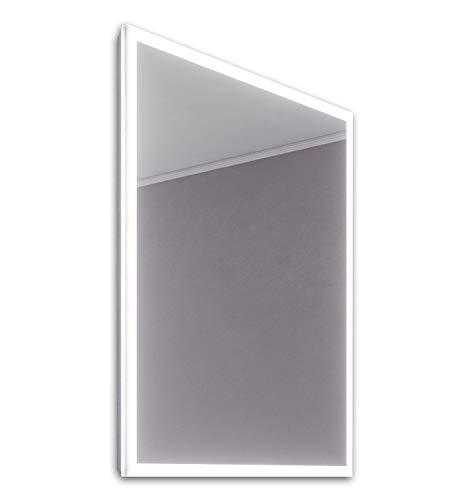 DIAMOND X COLLECTION Mila Slimline Edge LED Bathroom Mirror with Demister Pad -