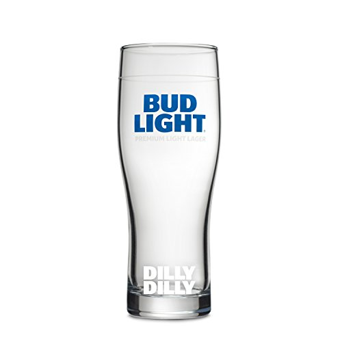 Bud Light 2-Pack Essential Dilly Dilly Glass, 16 ()