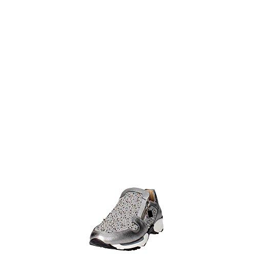 Grigio E0771 Donna FLORENS Bassa Sneakers IpTaqPax