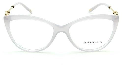 132a45b0ed Tiffany   Co. TF 2161-B Women Cat-Eye Eyeglasses RX - able Prescription  Frame (White 8243