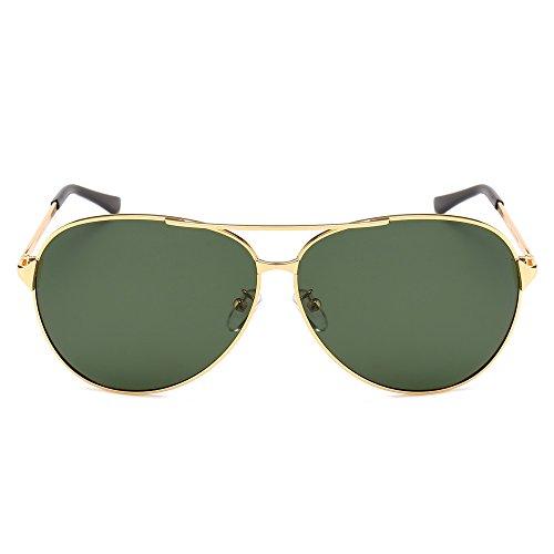 59aa7047e7536 SUNGAIT UV400 Aviator Sunglasses for Men Women Polarized Oversized Sun  Glasses Classic Metal Frame Gold Frame ...