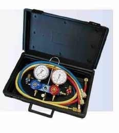 R12, R22, and R502 2-way Manifold Gauge Set