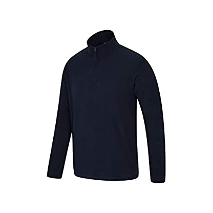 Mountain Warehouse Mens Camber Fleece Top - Lightweight Top, Breathable Sweater, Quick Drying Pullover, Extra… 6