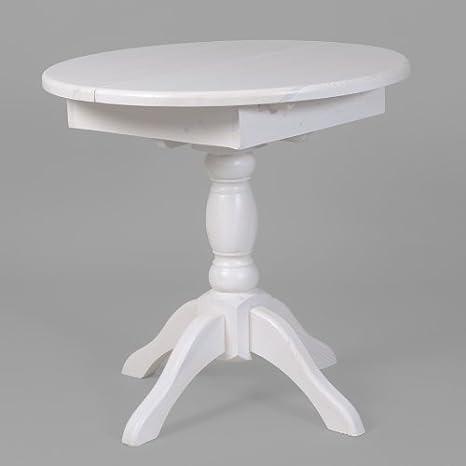Esstisch Tisch Holztisch Ausziehbar Rund O 80 25 Kiefer Massiv