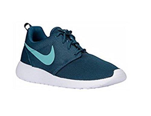 Nike Femmes Roshe Taille 9,5 Minuit Turquois 844994-301