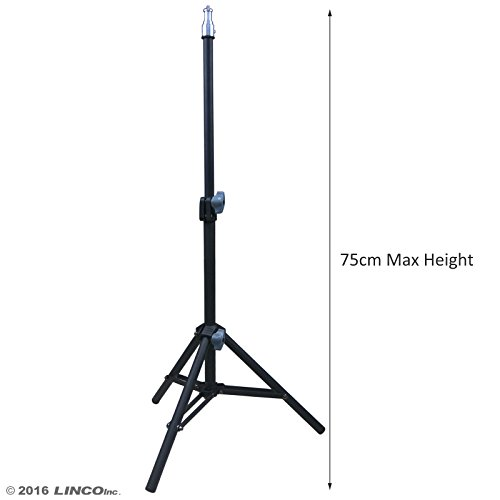 Linco Lincostore Photography Back Light Stands with 75cm Max Height for Relfectors, Softboxes, Lights, Umbrellas, Backgrounds (Light Stand Softbox)
