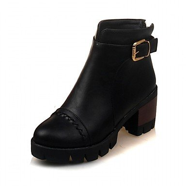 Evening 5 5 Novelty EU41 UK7 Spring Comfort Fall Office RTRY Patent Wedding Casual Women'S US9 CN42 10 amp;Amp; amp;Amp; Boots Dress Winter Leatherette Leather Career Party Platform 8 1Wqn4Hxg