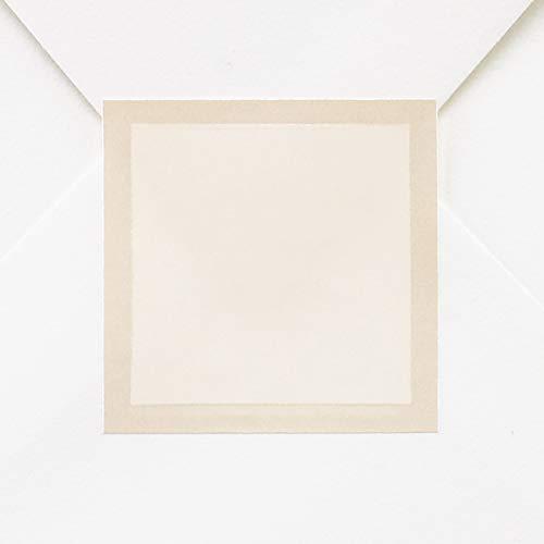 225pk Ecru Pearl Border Seal-Envelope Seals
