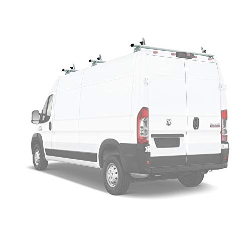 (AA-Racks Model AX312-PR RAM ProMaster 2013-On Aluminum 3 Bar Van Roof Rack System Ladder Stopper)