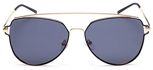"PRIVÉ REVAUX ""The Celebrity"" Handcrafted Designer Polarized Aviator Sunglasses For Women & Men - Celebrity Sunglass"