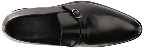 A.testoni Mens M47336gum Slip-on Loafer Zwart