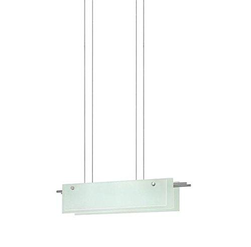 13 Sonneman Suspended Glass - Sonneman 3217-13LED 24 Pendant from The Suspended Glass Slim LED Collection