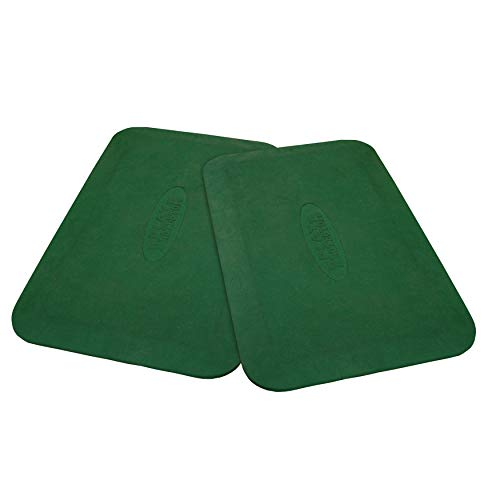 - Gorilla Playset Accessories Protective Rubber Mat in Green - Set of 2