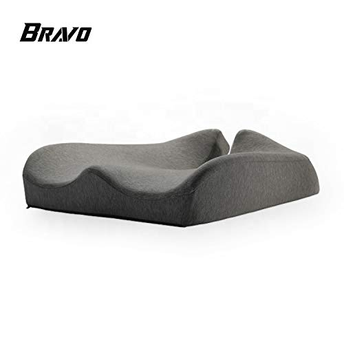 Memory Cotton Seat Cushion Wrapped Health Care Cushion Soft Comfortable and Relieve Fatigue Suit for Office