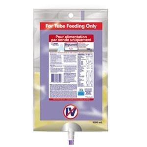 UltraPak Peptamen with Prebio1 Complete Elemental Nutrition 1000mL Bag Part No. 9871622804 Qty 1