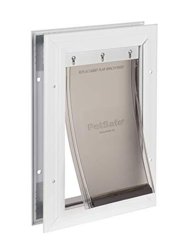 PetSafe Freedom Aluminum Dog and Cat Door - Durable Frame - Small Pets