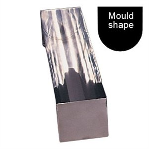 Vogue U Shaped Stainless Steel Terrine Mould 135mm