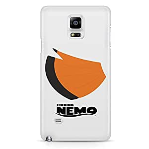 Loud Universe Nemo Tail Design Art Samsung Note 5 Case Finding Nemo Samsung Note 5 Cover with 3d Wrap around Edges