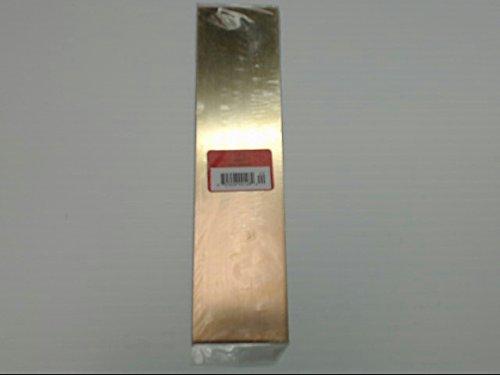 Blank Brass Gold Name Bar 2