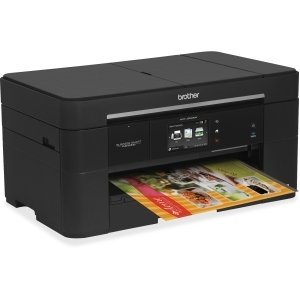 Brother Business Smart MFC-J5520DW Inkjet Multifunction Printer - Color - Plain Paper Print - Desktop - Copier/Fax/Printer/Scanner - 35 ppm Mono/27 ppm Color Print - 22 ppm Mono/20 ppm Color Print (ISO) - 6000 x 1200 dpi Print - Touchscreen LCD - 2400 dpi