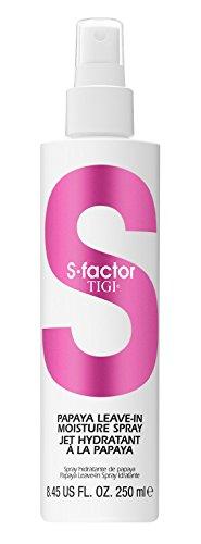 Tigi S-factor Papaya Leave-in Moisture Spray, - Papaya Hair