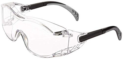 Gateway Safety 6980 Cover2 Safety Glasses Protective Eye Wear (2-Pack, Clear) by Gateway Safety (Image #1)