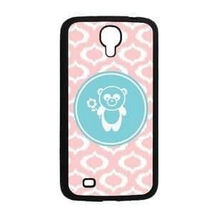 "Be A Panda Baby Pink Ikat Cute Hipster Samsung Galaxy Mega 6.3"" i9200 Case - Fits Samsung Galaxy Mega 6.3"" i9200"