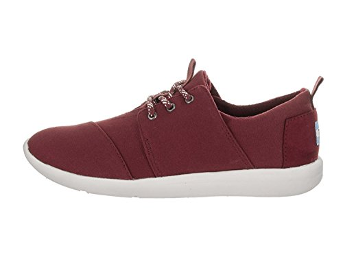 Toms Womens Del Rey Sneaker Burgundy.canvas