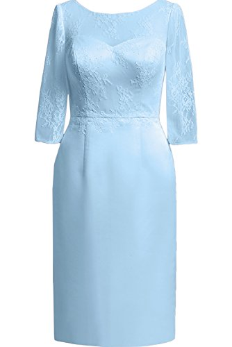 TOSKANA BRAUT - Vestido - Estuche - para mujer azul claro