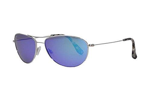 Maui Jim Baby Beach Blue Hawaii 56mm Polarized Sunglasses