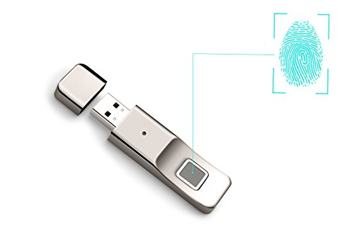 Drive Biometric Security Flash Usb - Aspoir 32GB Fingerprint Encryption USB 3.0 Flash Drive U Disk High-Speed Recognition Fingerprint Encrypted Memory USB Stick Luxury Metal Design for Business/Personal Data Security