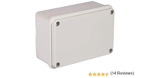 Electraline 60558 - Caja de derivación de superficie (lisa, 120 x ...