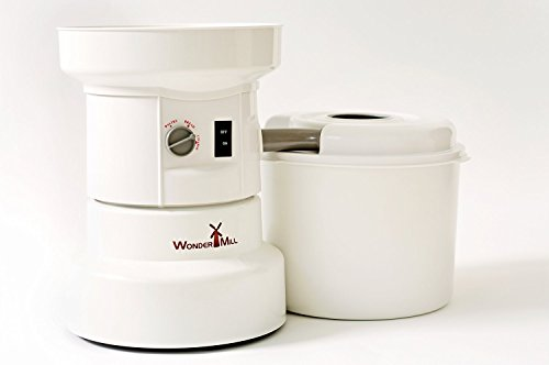 WonderMill Electric Grain Grinder - Grain Mill (110 V)