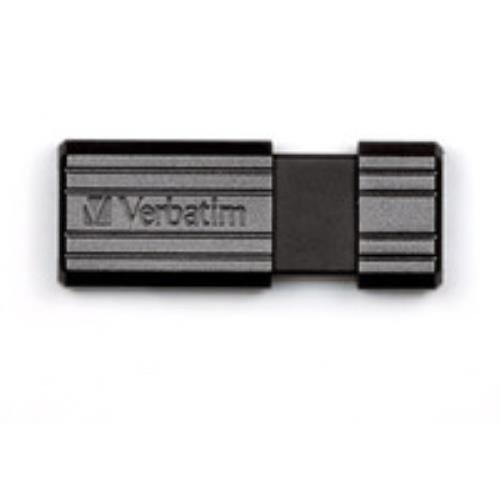 Verbatim Pinstripe Usb Flash Drive, 16gb, Black
