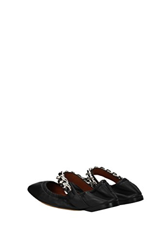 In Pelle Nero Uk Ballerine Donne Givenchy be09218880 TUqx6wEBnR