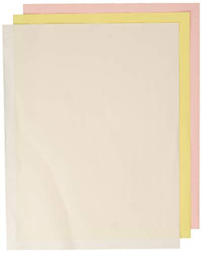Nekoosa 17392 Digital Carbonless Paper, Reverse, 8-1/2 X 11, White/Canary/Pink, ()