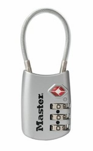 Master Lock 4688DSLV Accepted Luggage