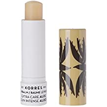 Korres Lip Balm Extra Care Stick, Aloe, 0.17 Ounce