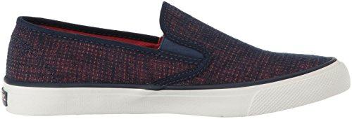Sperry Top-sider Vrouwen Zee Two-tone Linnen Sneaker Marine / Koraal