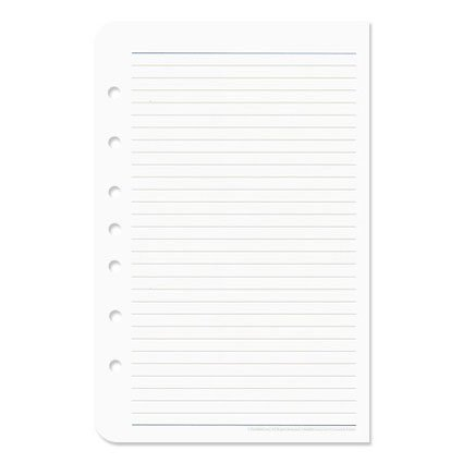 Compact Wide Lined Pages