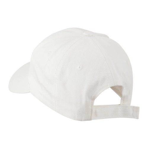 E4hats Smiley Face Embroidered Cap - White  107308b31145