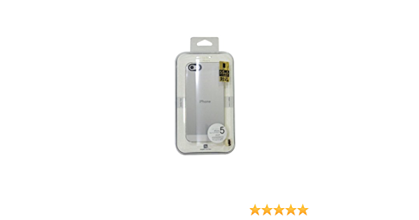 Power Support Clear Air Jacket Set For iPhone 5 (2 screen protectors (1 crystal clear, 1 anti glare))