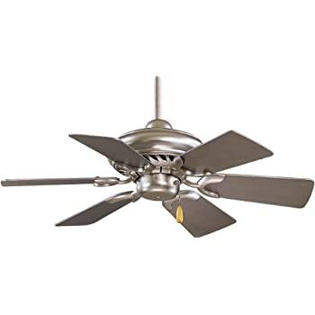 Minka Aire F562 BS Supra 32 Ceiling Fan Brushed Steel