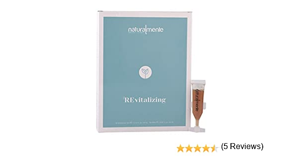 Naturalmente Basic Revitalizing Scalp Treatment 30 viales: Amazon.es: Belleza