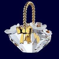 Swarovski Crystal Figurine, 171160 - Flower Basket
