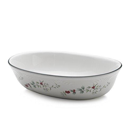 Pfaltzgraff Oval Plates - 10994300 Pfaltzgraff Winterberry Dinnerware, Assorted