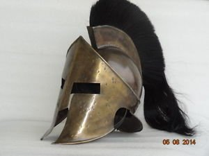 Junglevibes Spartan King Leonidas 300 Movie Helmet With Plume For For Sca Larp Role Play