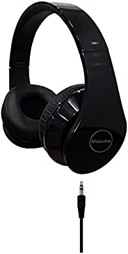 VisionTek Products Stereo Headphones, Black (900937)
