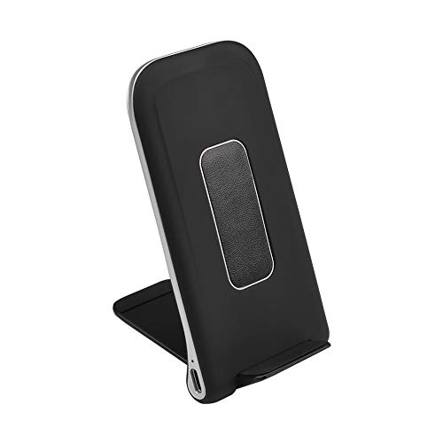 GOSETH Wireless Charger Qi Certified 7.5W Fast Wireless Charging Stand Compatible with iPhone Xs MAX XS XR X 8 Plus,10W for Galaxy Note 9 S9+ S8 /S8,S7/S6 Edge+, All Qi-Enabled Devices(No AC Adapter)